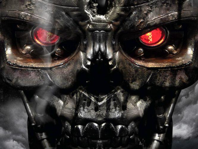 Terminator robot wallpaper