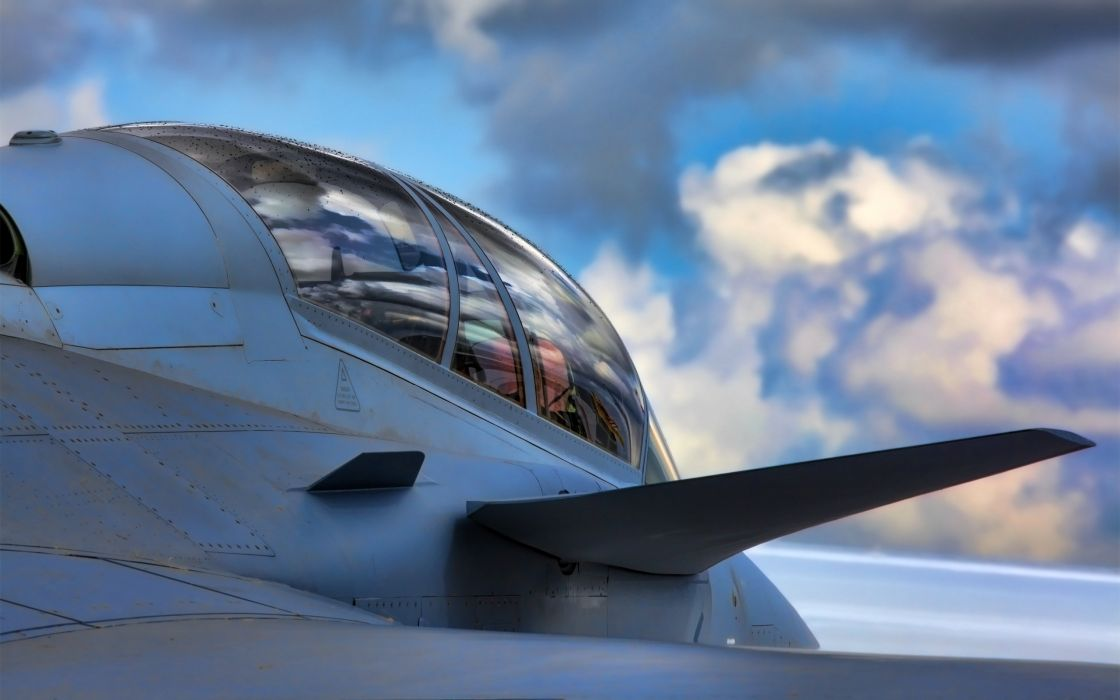 Jet cockpit wallpaper
