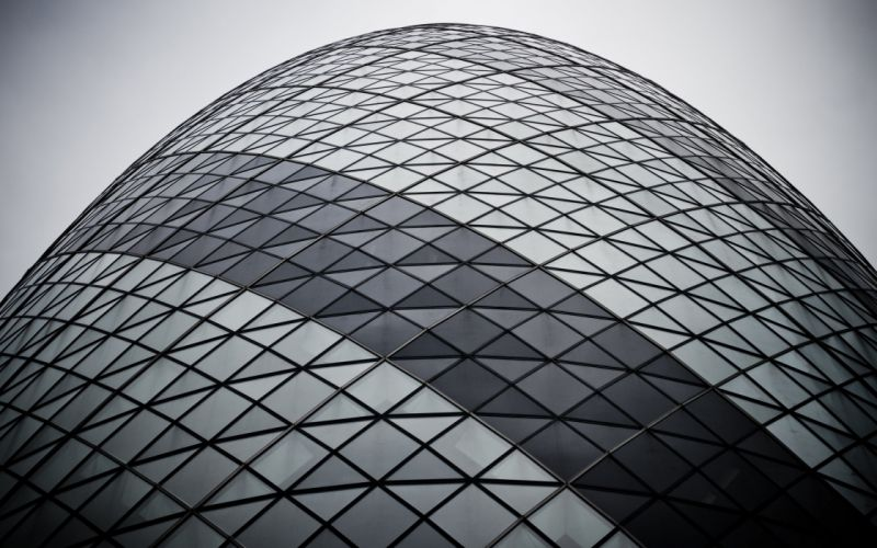 The gherkin from wallpaper