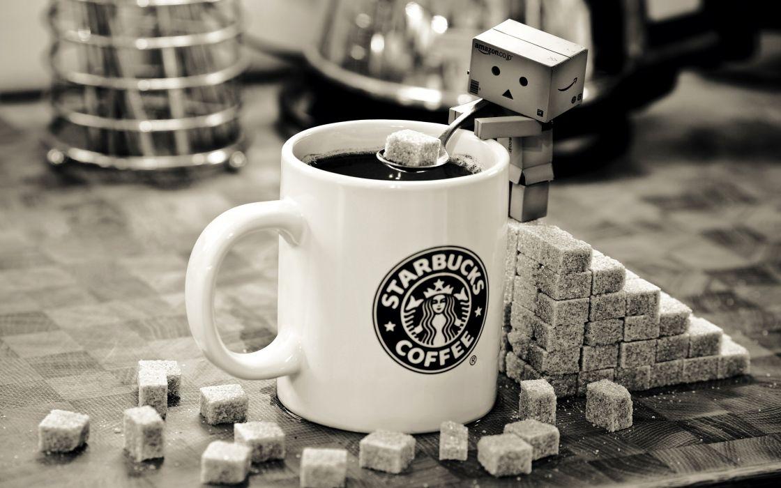 Dambo at starbucks coffee wallpaper