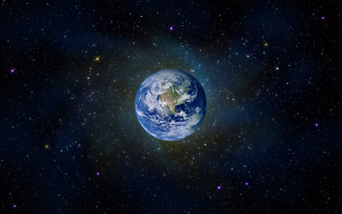 Earth planet wallpaper