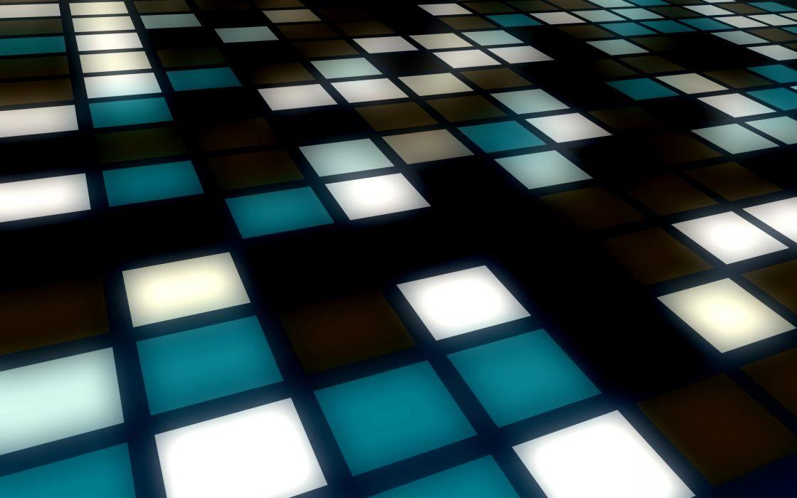 Lights perspective wallpaper