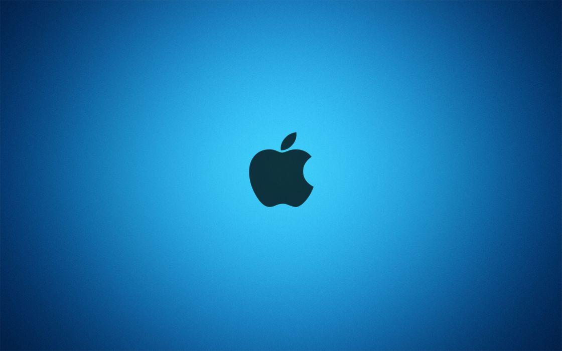 Apple blue wallpaper