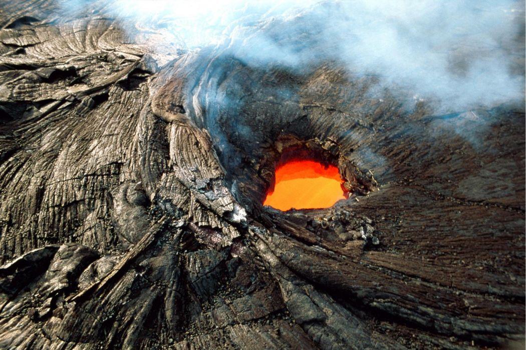 Volcanic lava wallpaper