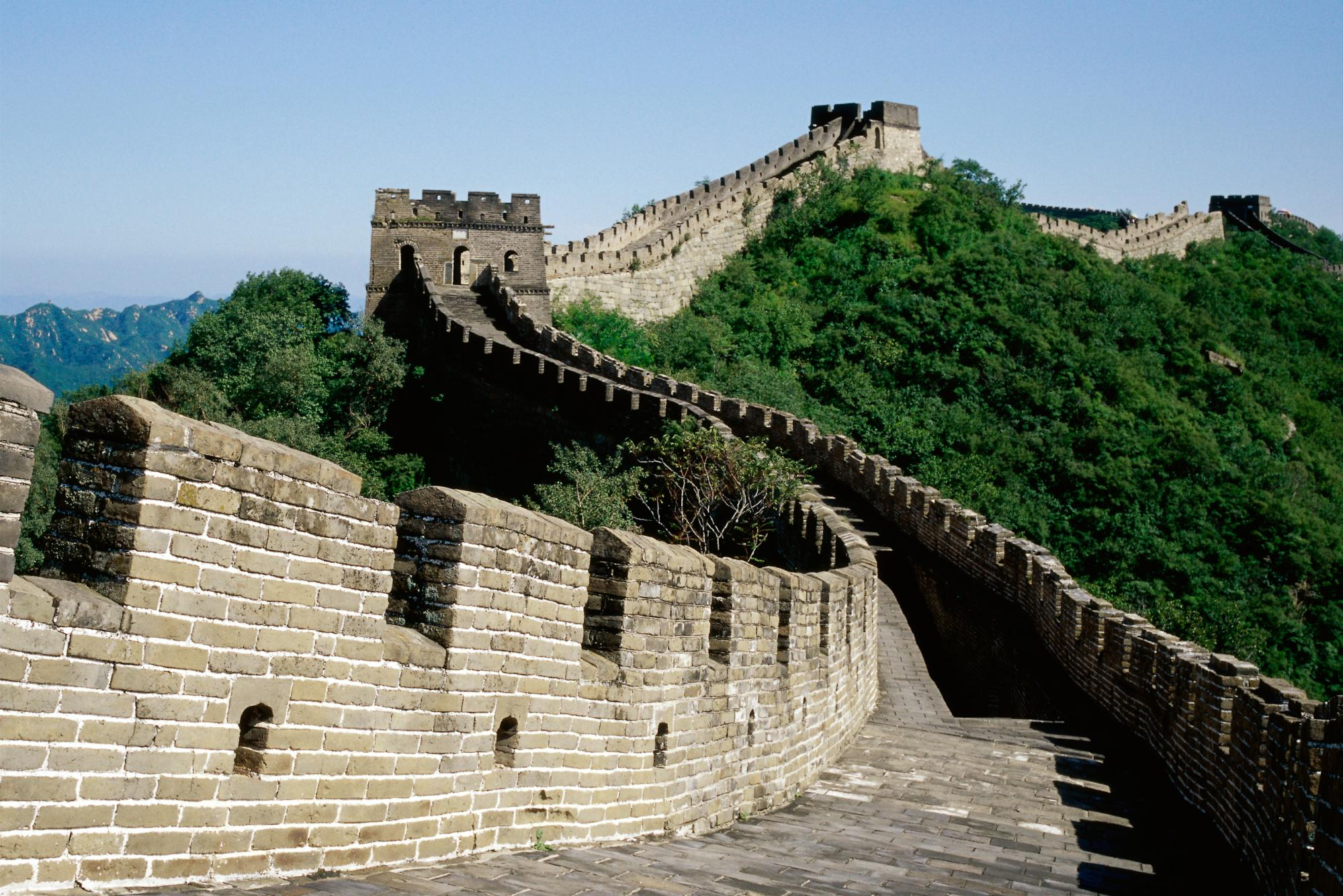 Great wall of china wallpaper background