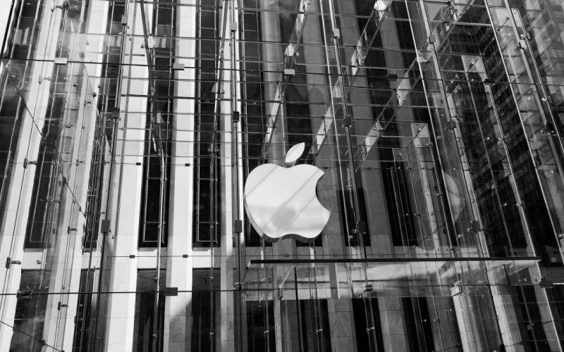 Apple store 3D cube wallpaper