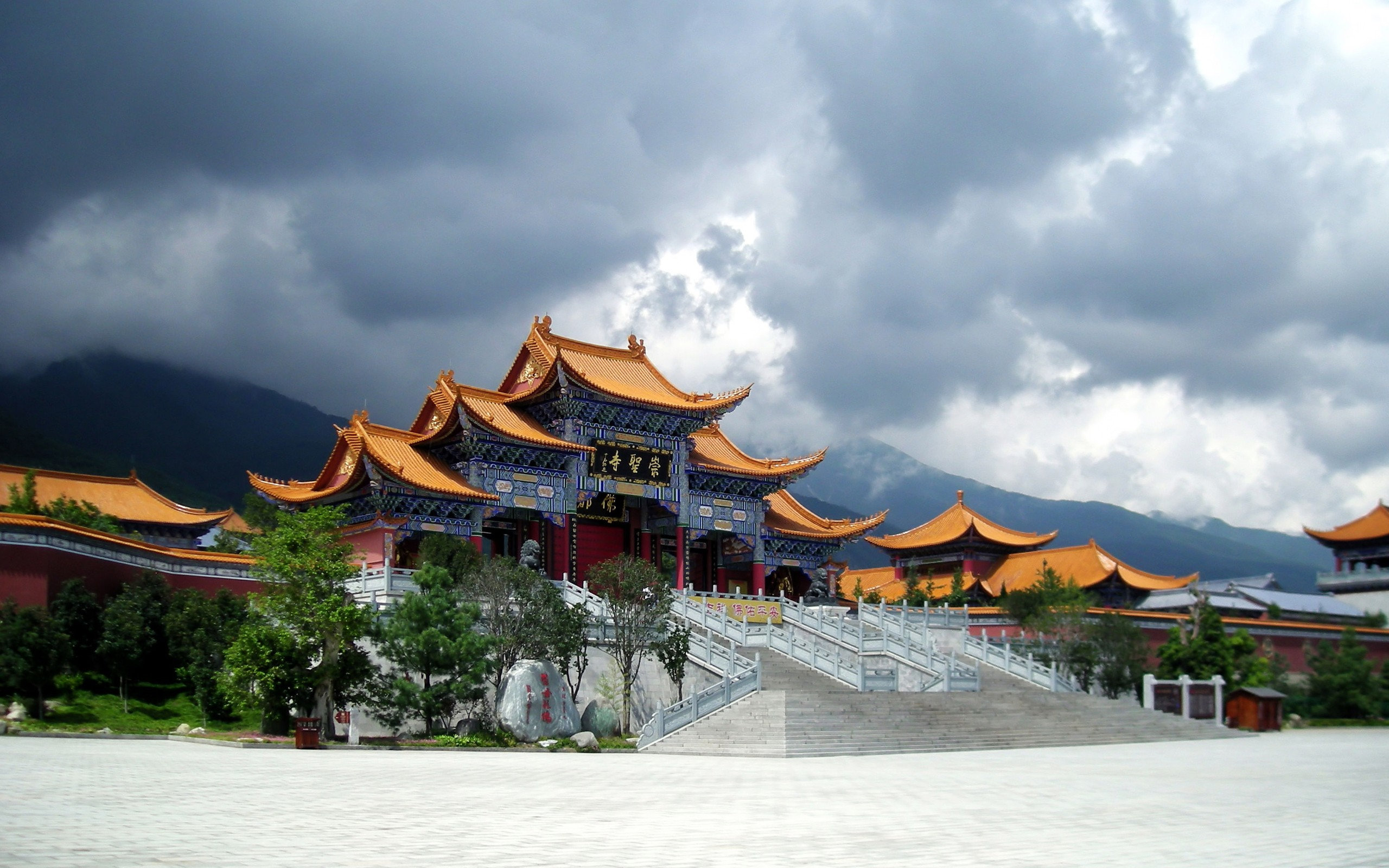 chinese architecture wallpaper 2560x1600 704 wallpaperup