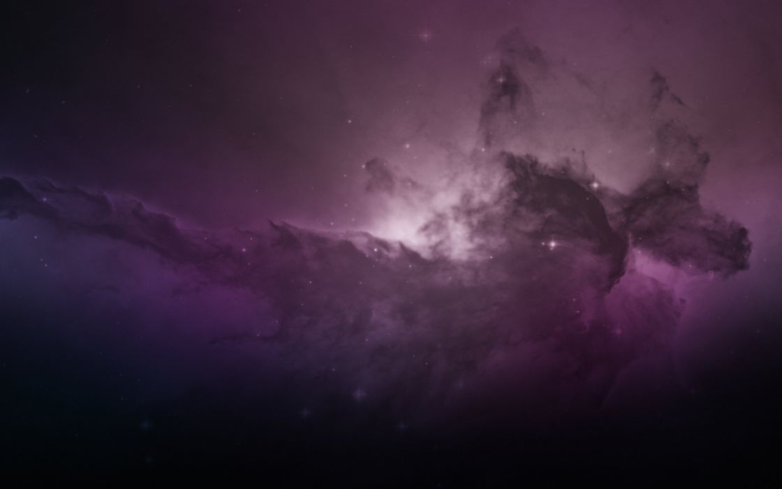 Space nebula wallpaper