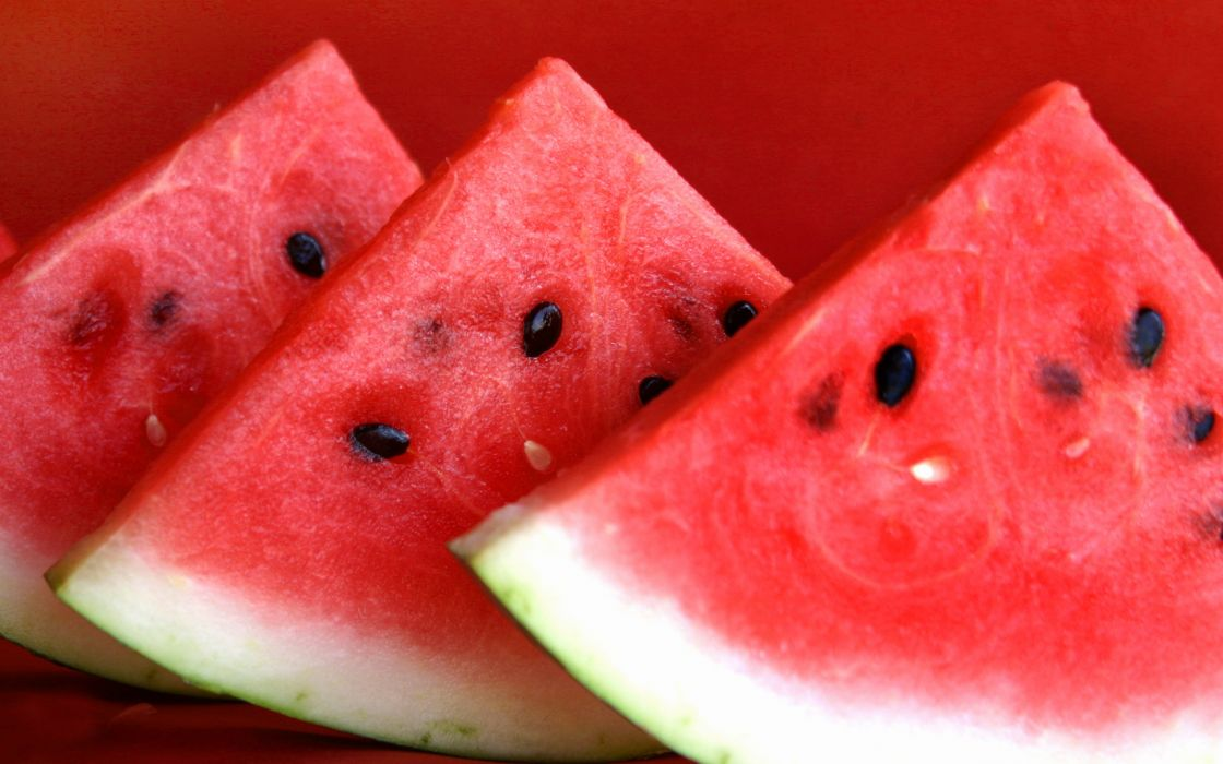 Watermelons slices wallpaper