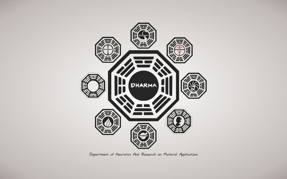 Lost - Dharma project wallpaper