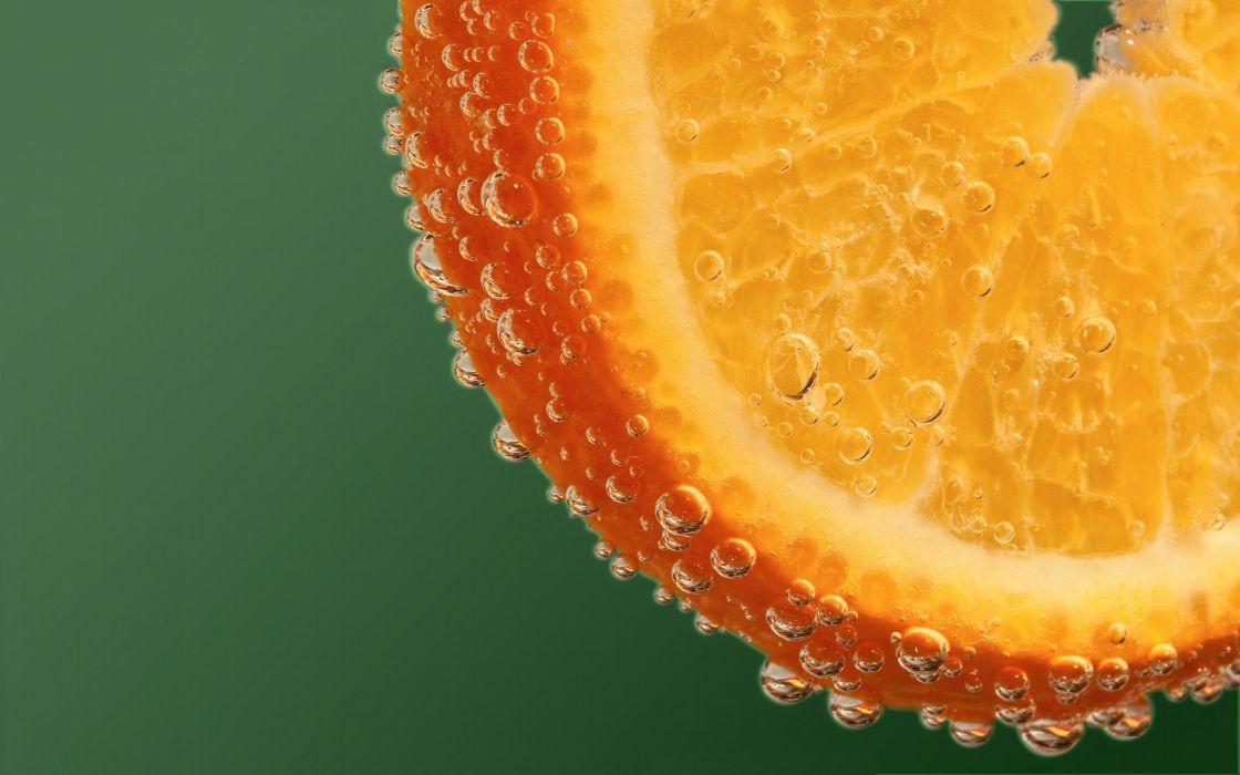Orange drops wallpaper