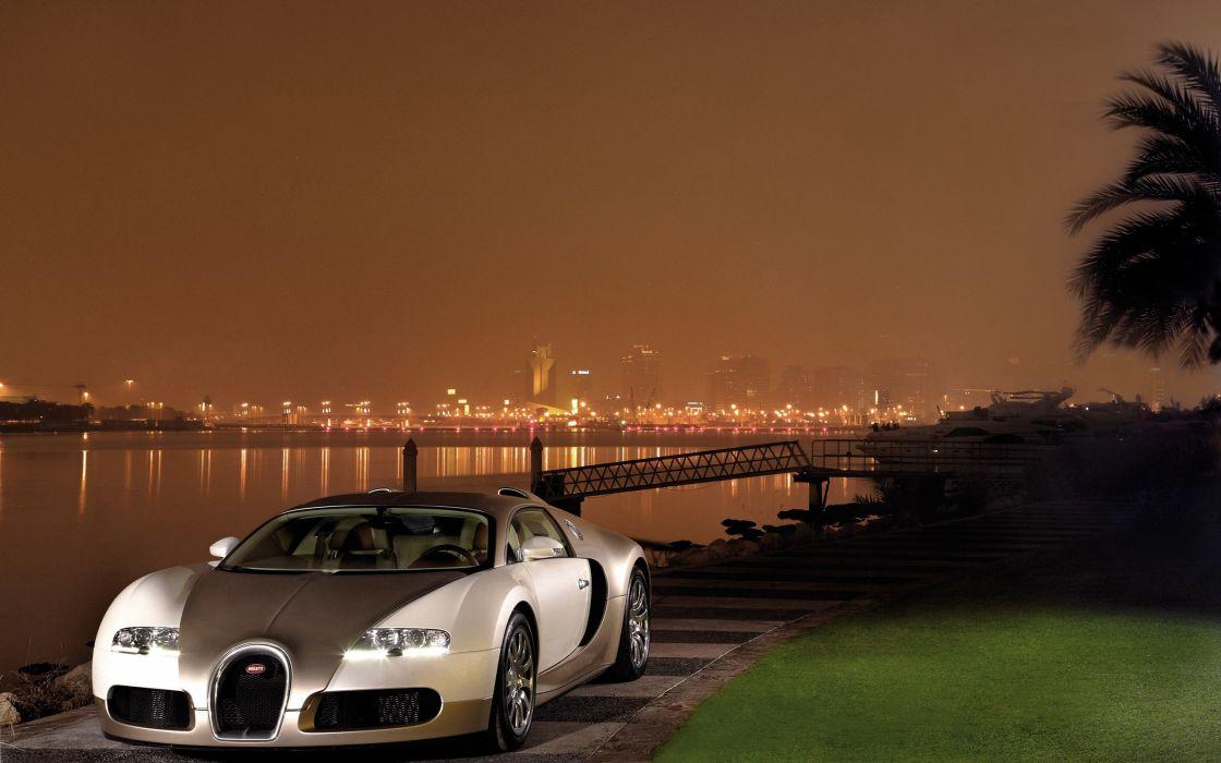 Bugatti Veyron Goud wallpaper
