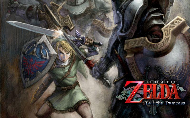 The legend of Zelda - twilight princess wallpaper