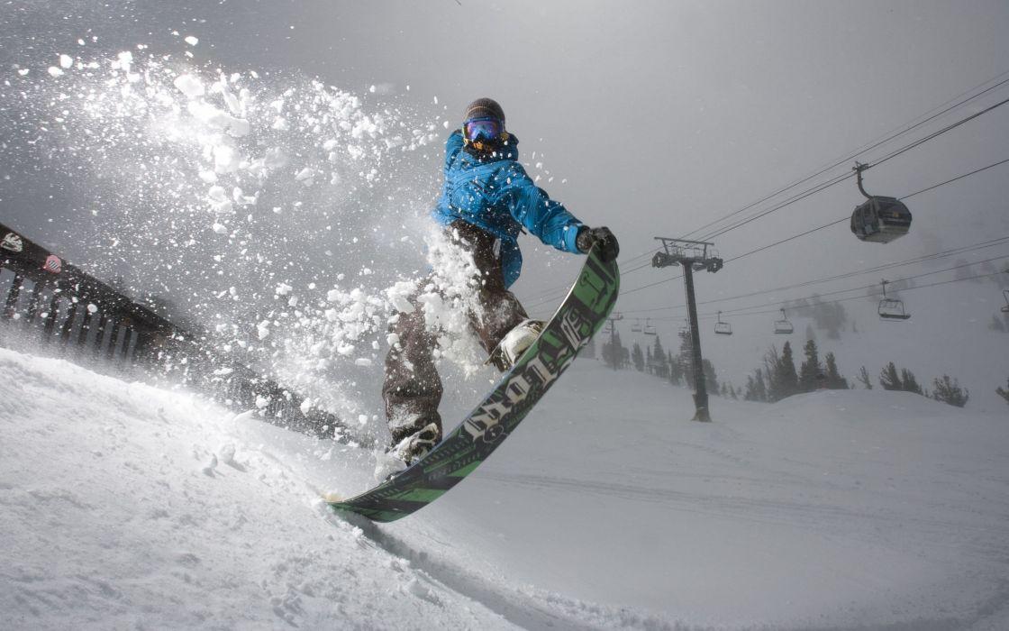 Scotty Lago snowboarding wallpaper