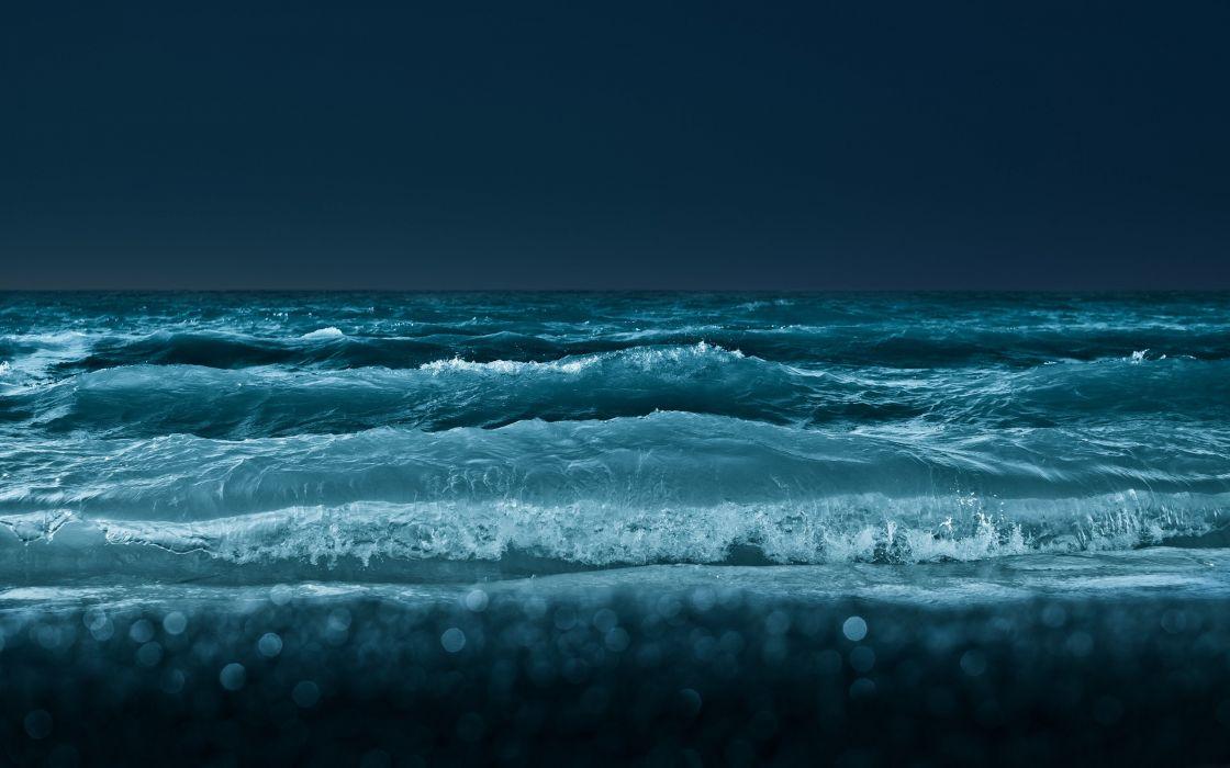 Furious sea wallpaper