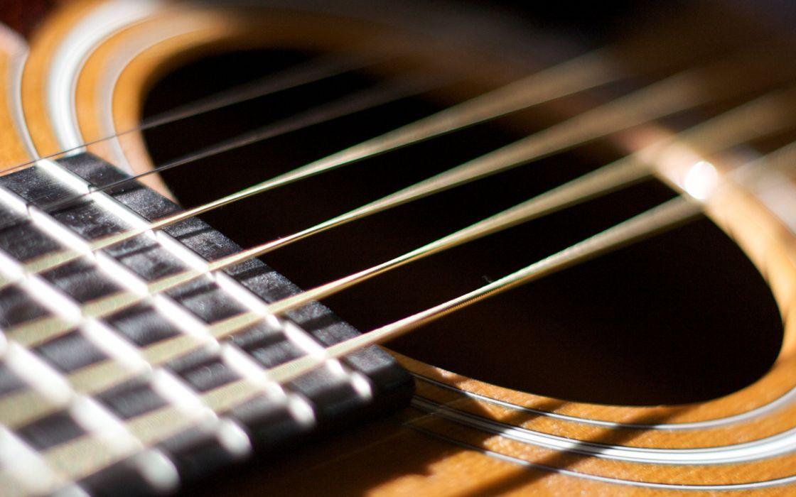 Guitar hole wallpaper