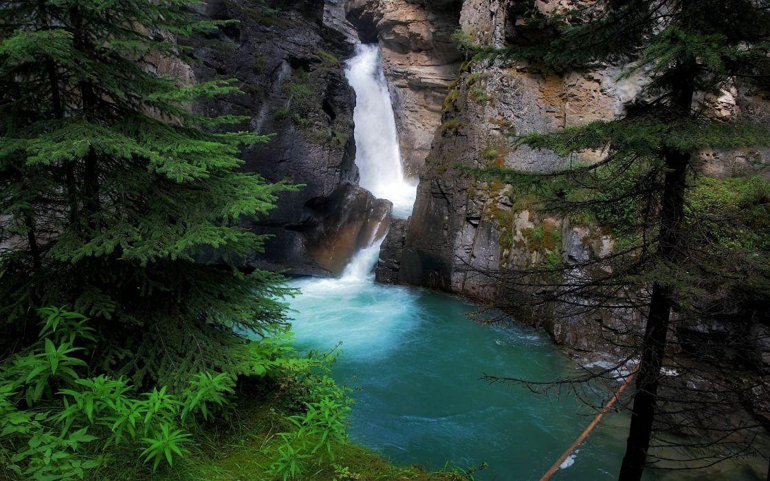 Johnston Canyon - Canada wallpaper