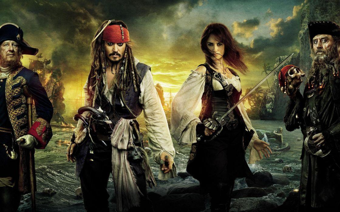 Pirates of the Caribbean - On stranger tides wallpaper