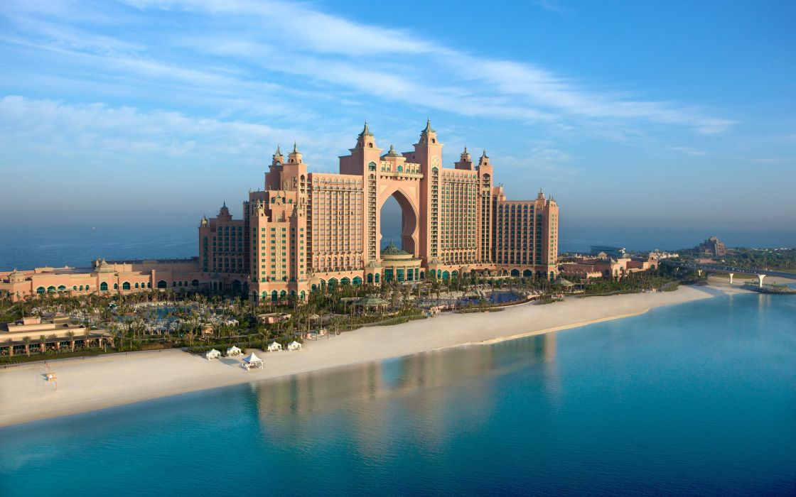 Hotel the palm - Dubai wallpaper