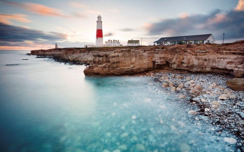 Lighthouse HDR wallpaper