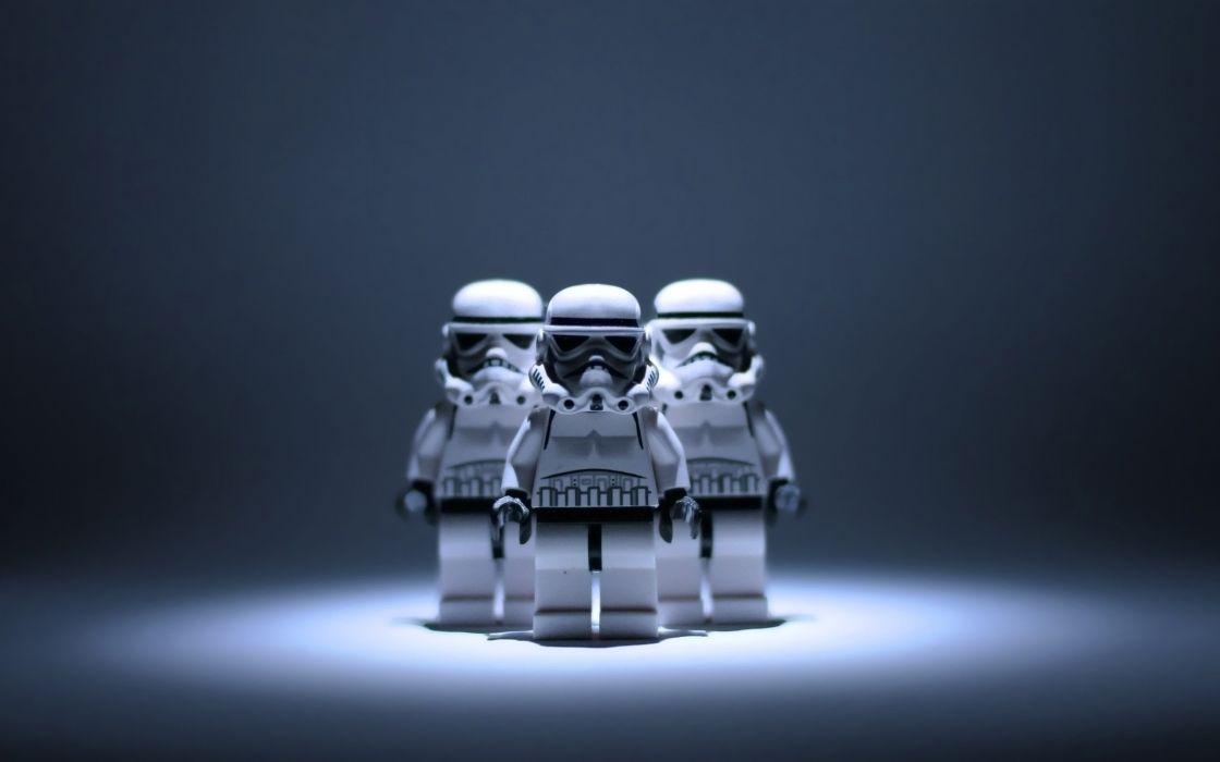Lego Star Wars stormtrooper wallpaper