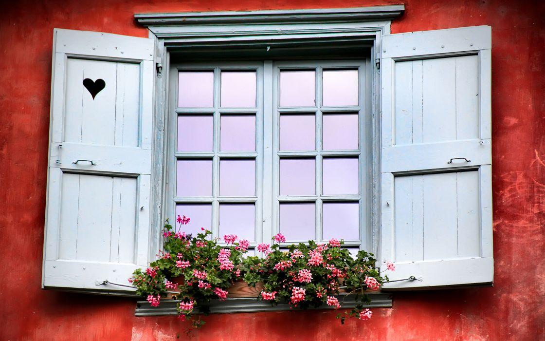 Love window wallpaper