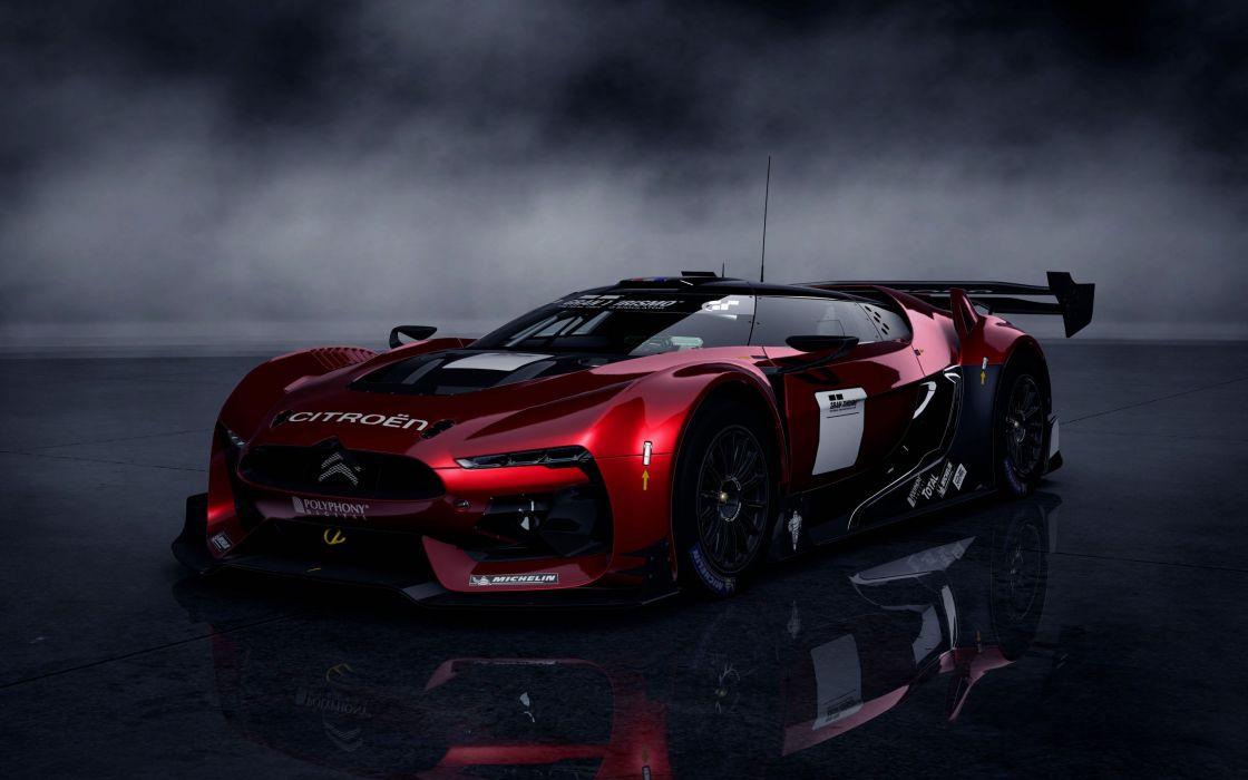 Citroen race car GT5 wallpaper