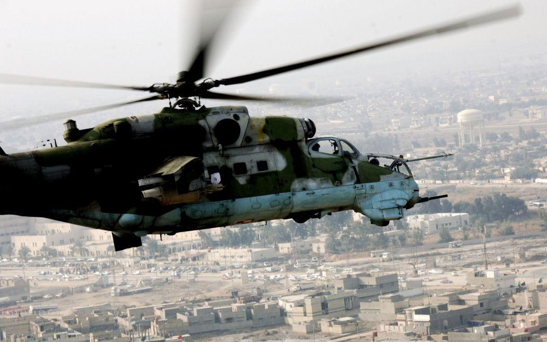 Mil Mi-24 Hind wallpaper