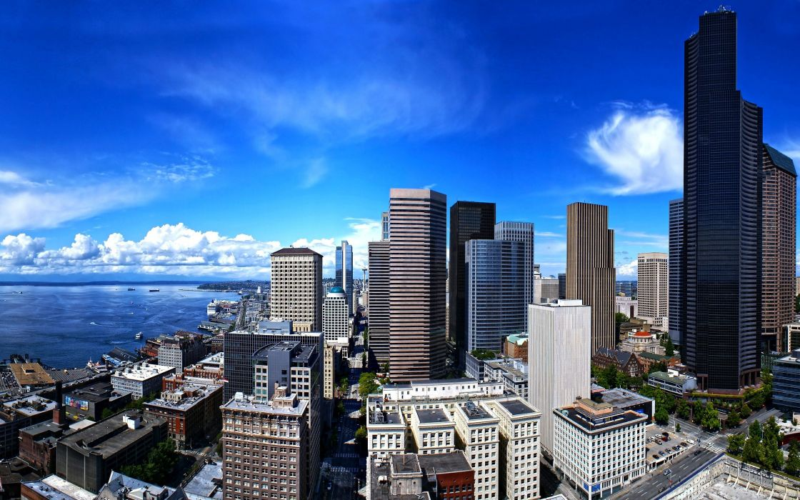 Seattle city wallpaper