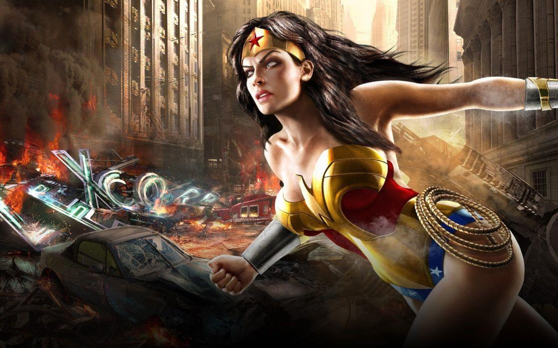 Mortal Kombat vs DC Universe - Wonder Woman wallpaper