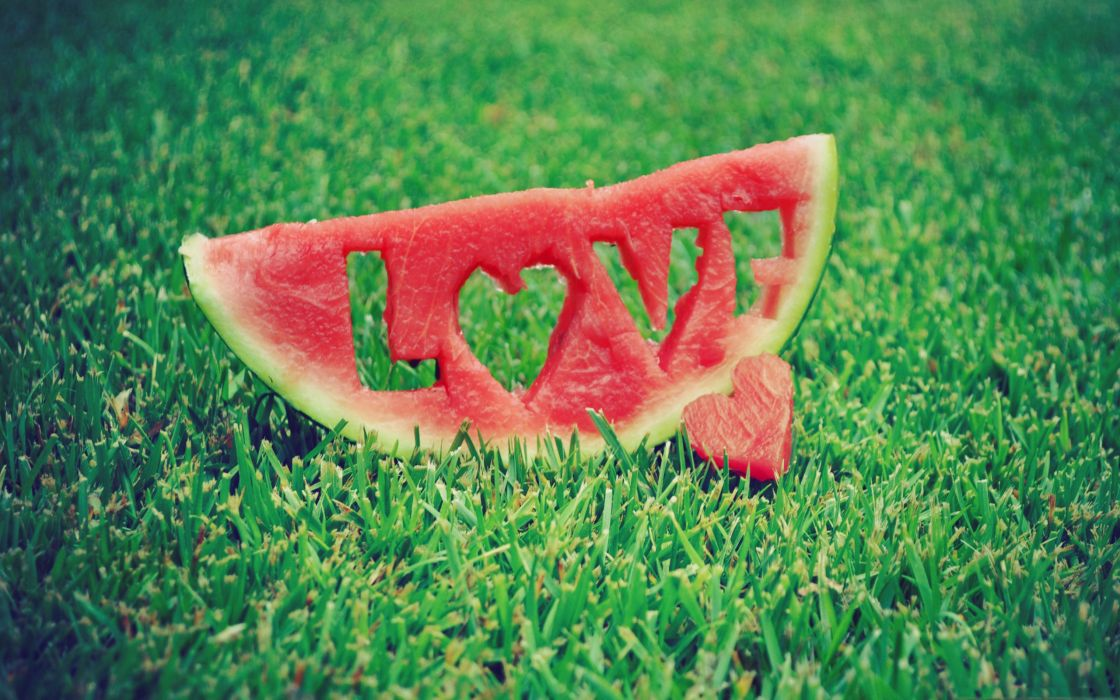 Love watermelon wallpaper