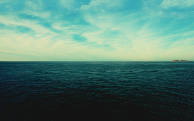 Sea horizon wallpaper