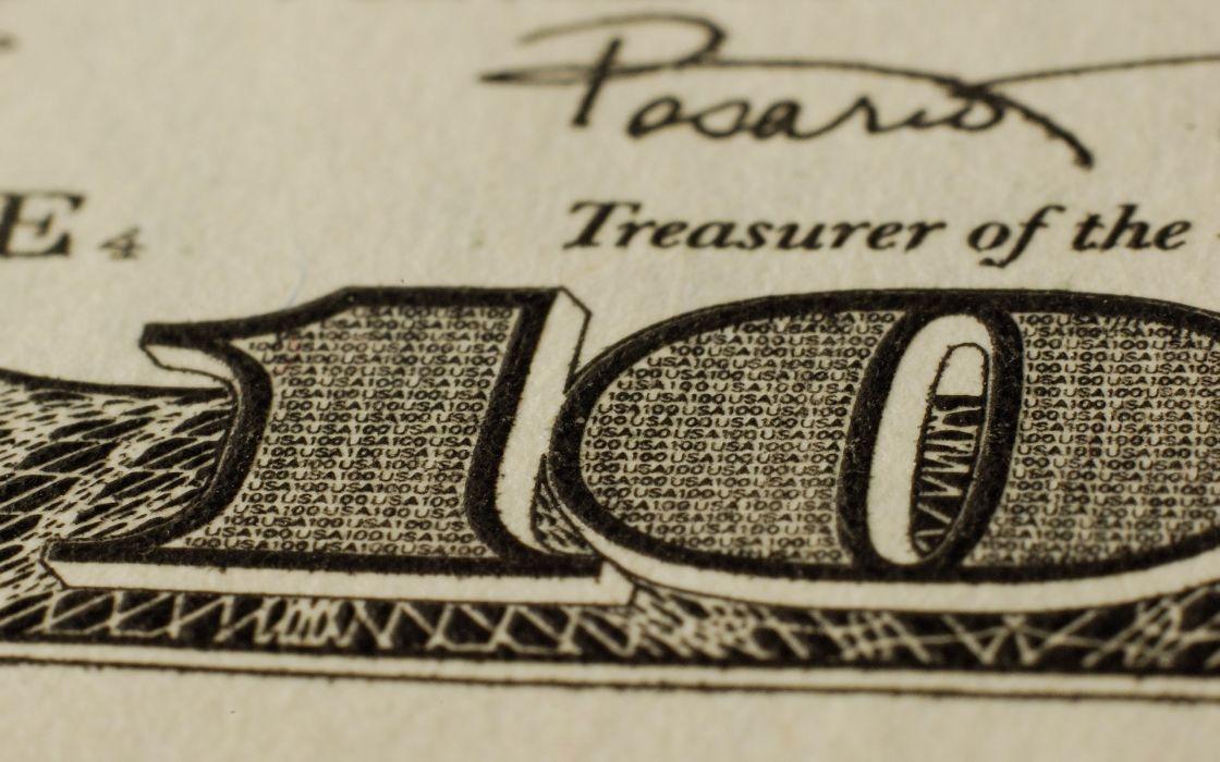 Hundred dollar bill wallpaper
