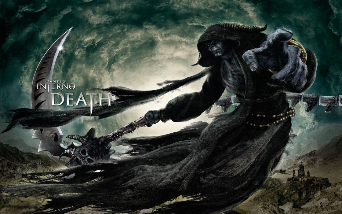 Dante's Inferno - Death wallpaper
