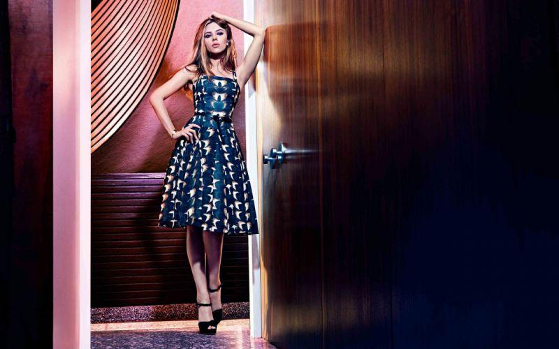 Scarlett Johansson for Mango wallpaper
