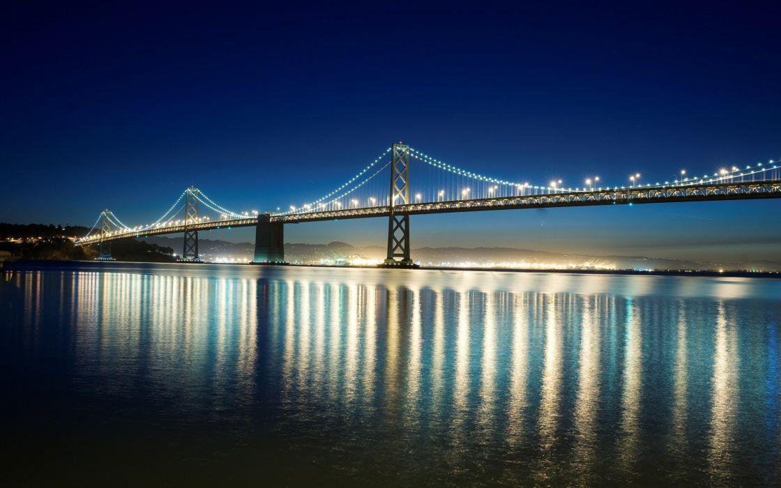 Bay Bridge in San Francisco wallpaper