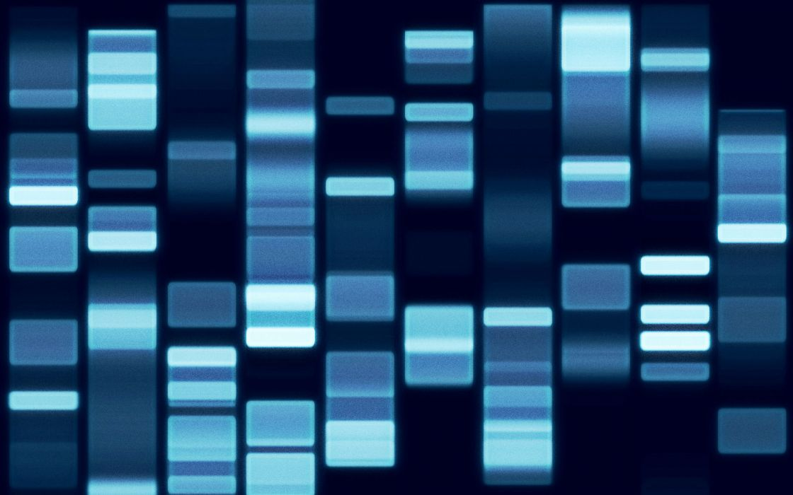 Genetic sequence of DNA wallpaper