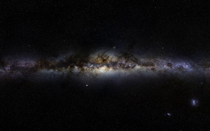 Gigagalaxy zoom of Milky Way wallpaper