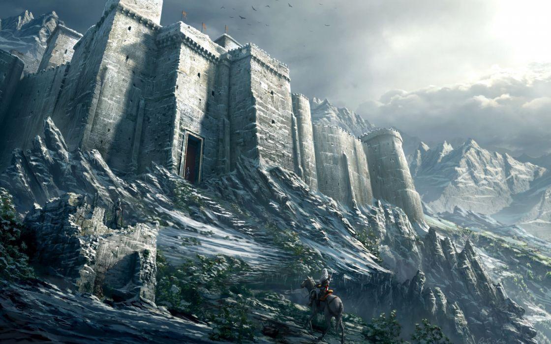 Assassins Creed Revelations castle wallpaper