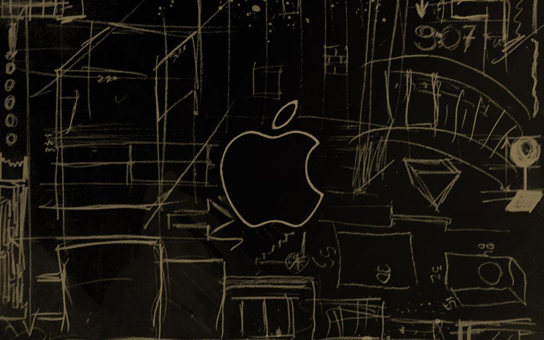 Apple scheme wallpaper