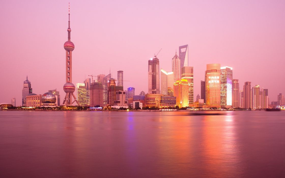 Shanghai - Oriental Pearl Tower wallpaper