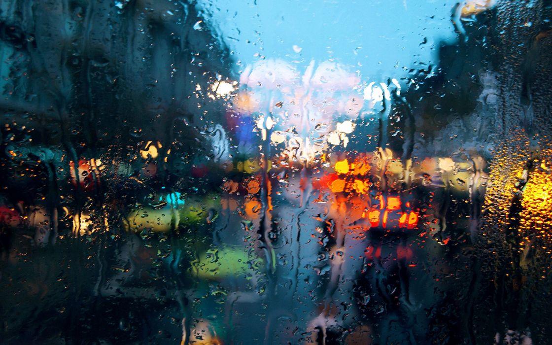 Rainy weather wallpaper