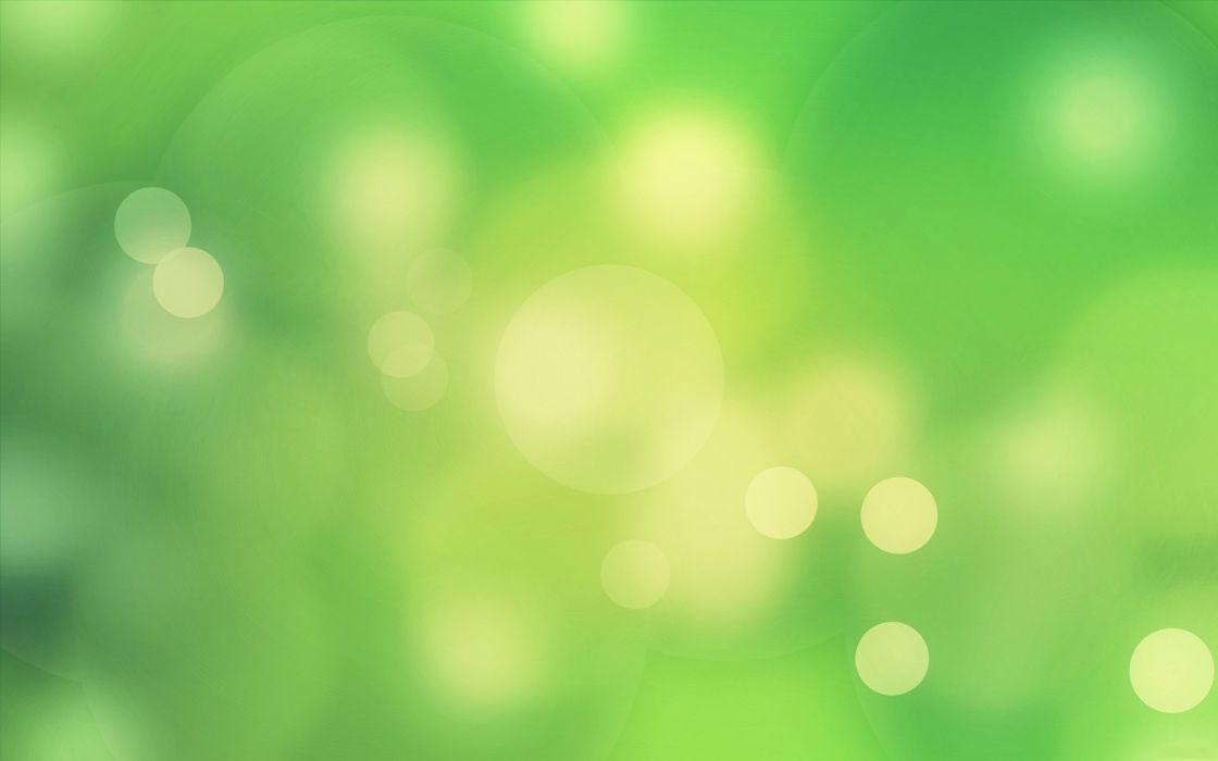 Green beauties wallpaper