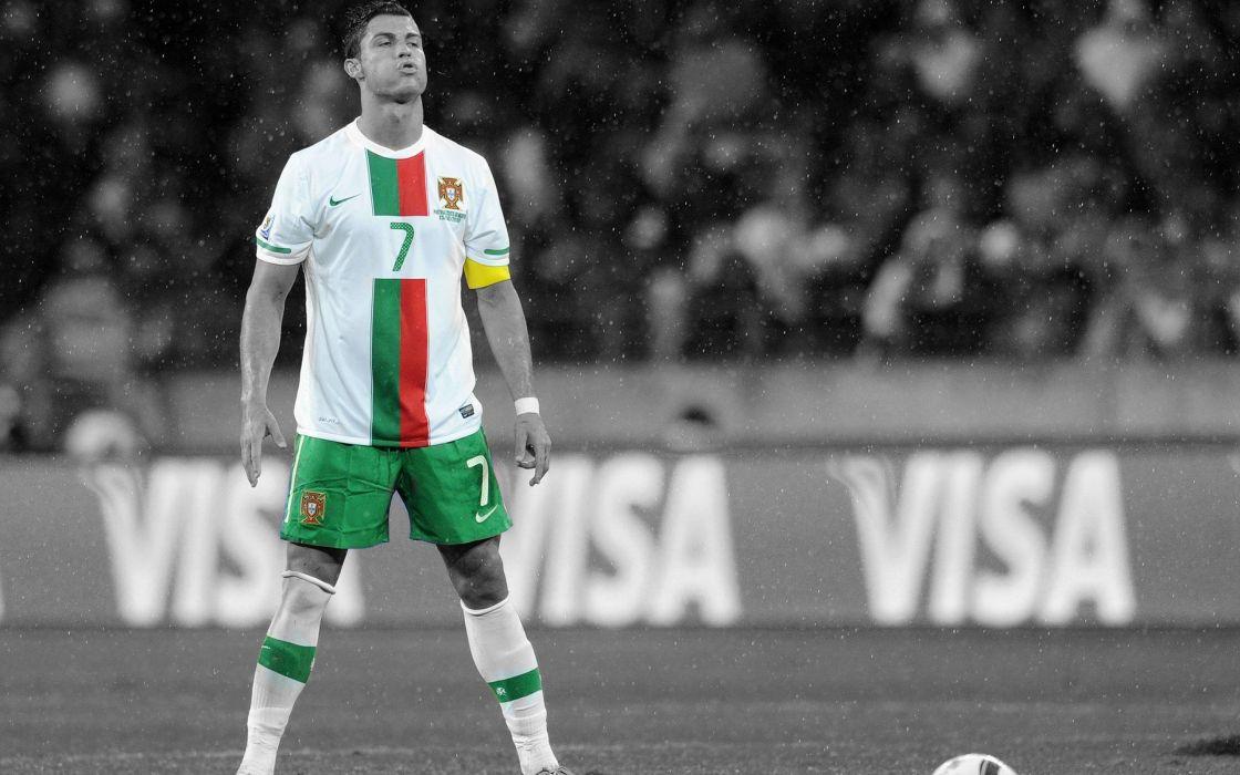 Cristiano Ronaldo - World Cup 2010 wallpaper