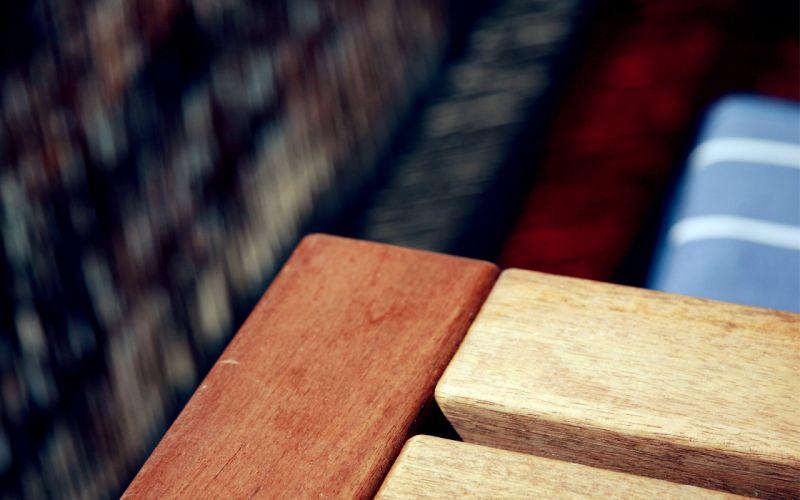 Wood chair wallpaper