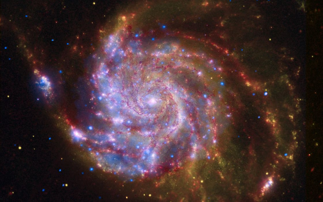 Spiral galaxy wallpaper