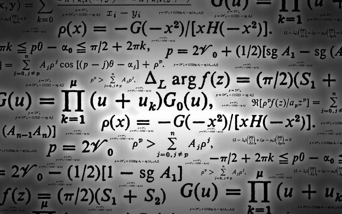 Math equations wallpaper