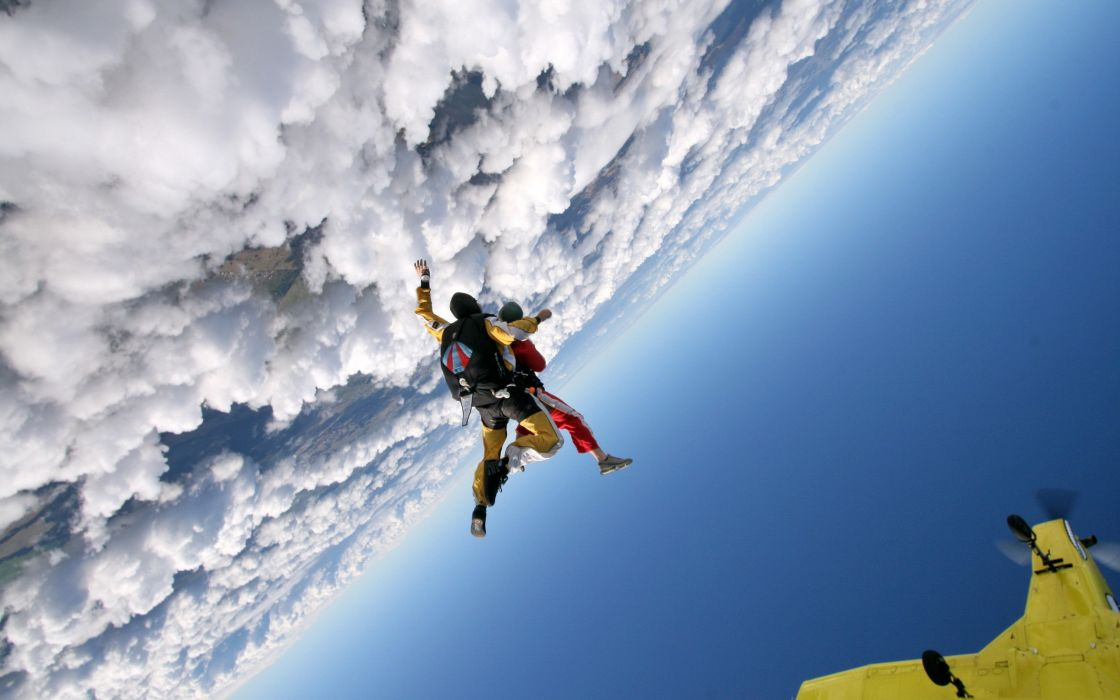 Skydiving wallpaper