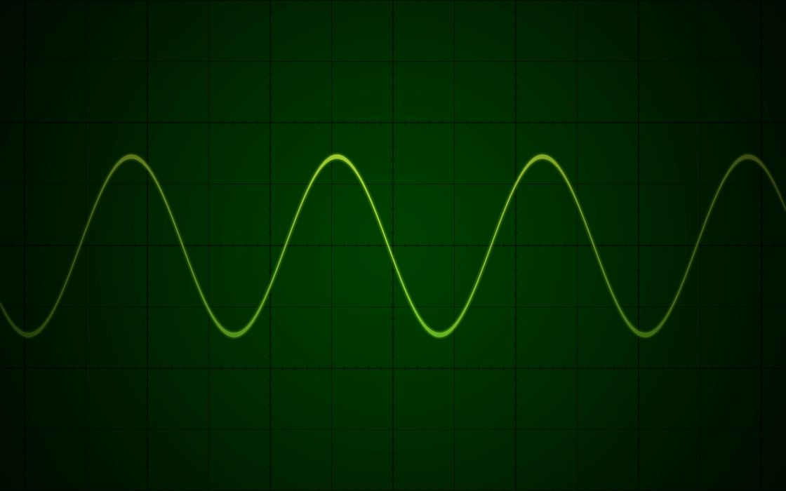 Oscilloscope wallpaper