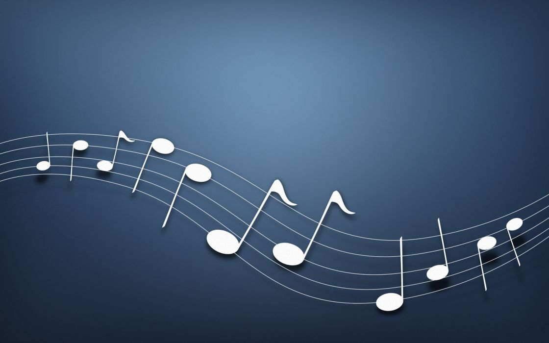 Musical notes background wallpaper